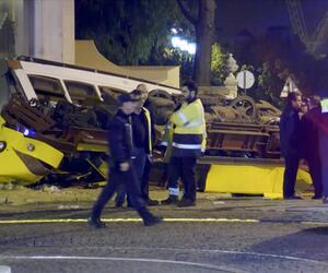 Straßenbahn in Lissabon entgleist
