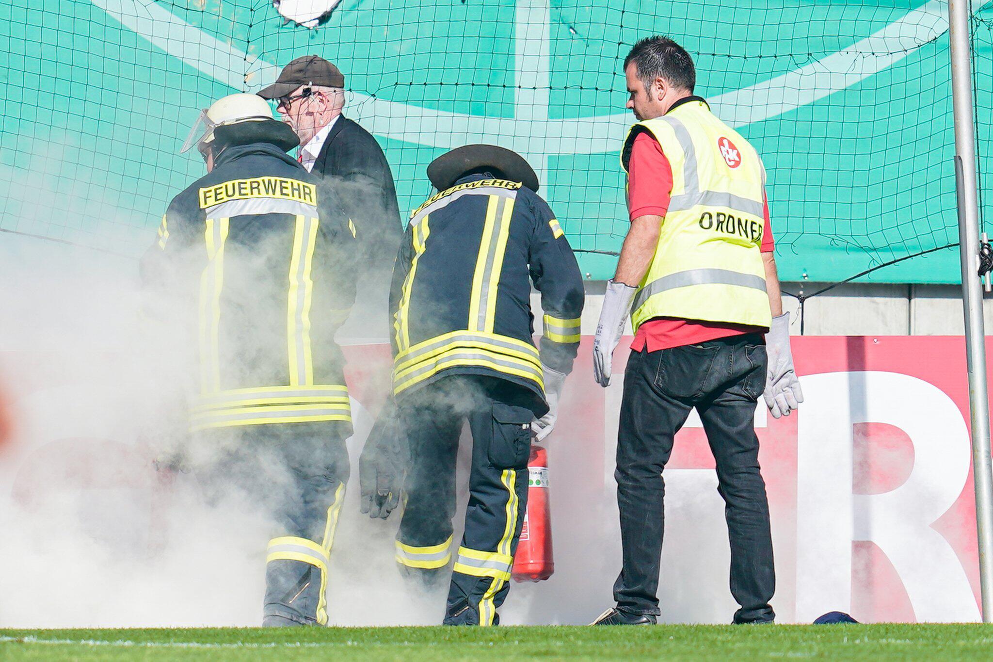 Bild zu Mainz droht nach Pokal-Pyro Strafe