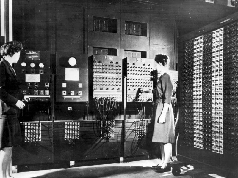Bild zu ENIAC