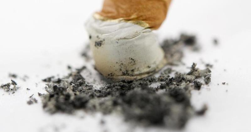 Korrida das Plus in der Absage auf das Rauchen