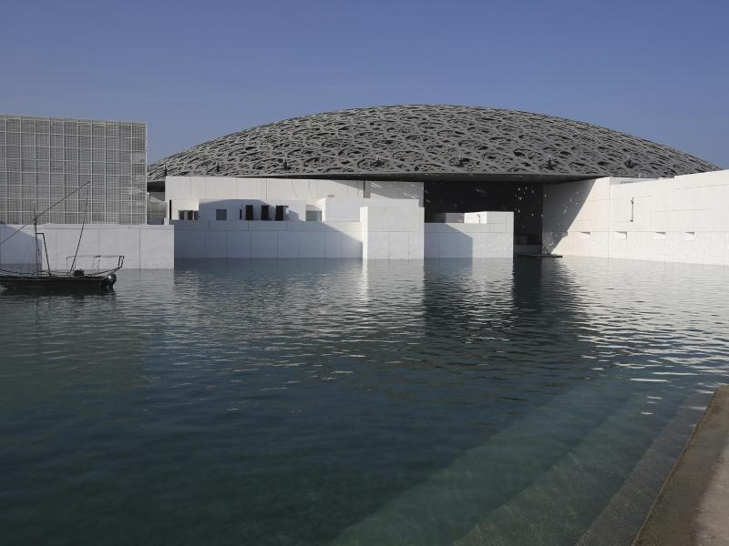 Bild zu Louvre in Abu Dhabi