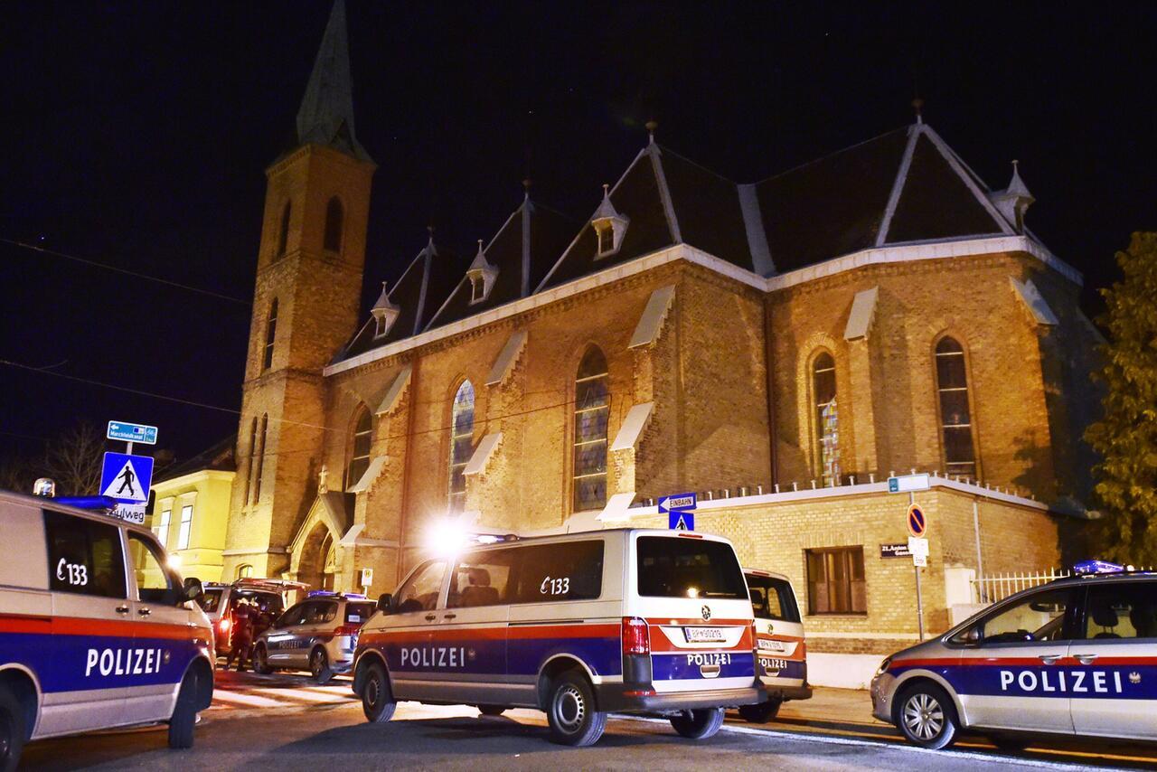 Bild zu Überfall in Wiener Kirche