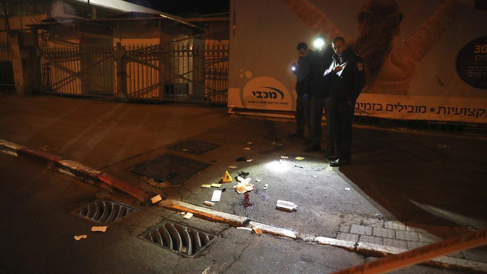 Auto-Anschlag in Jerusalem - israelische Soldaten verletzt