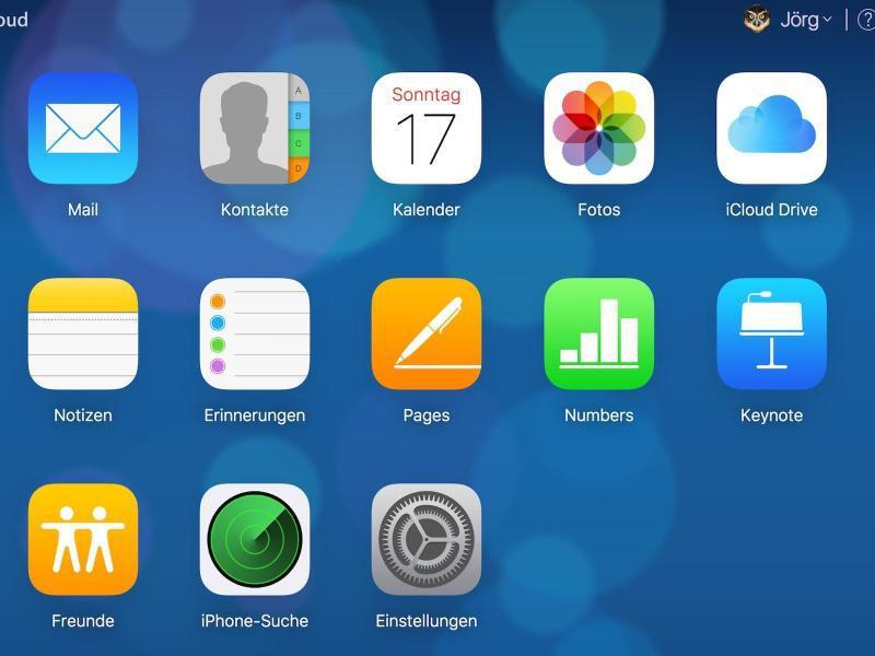Bild zu iCloud