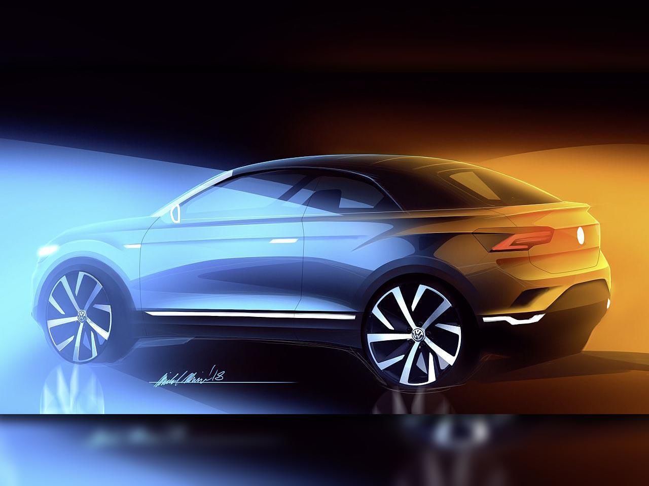 Bild zu VW T-Roc Cabrio