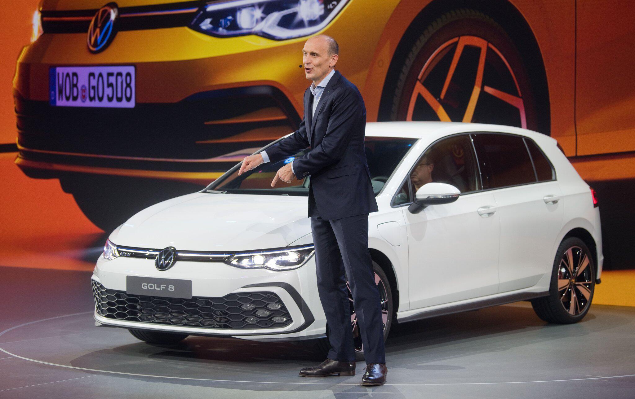 Bild zu Volkswagen Golf 8