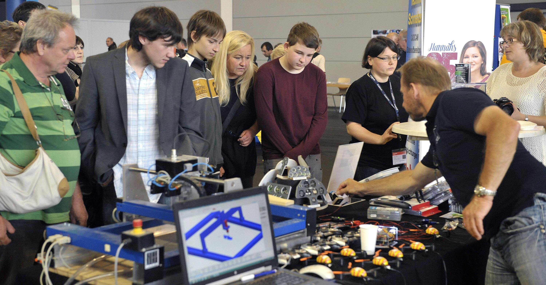 Zirka 17 000 Gäste kamen im vorigen Jahr zu ersten Maker World und ...