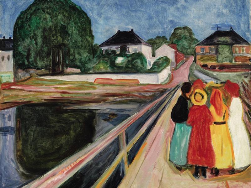 Bild zu Edvard Munch