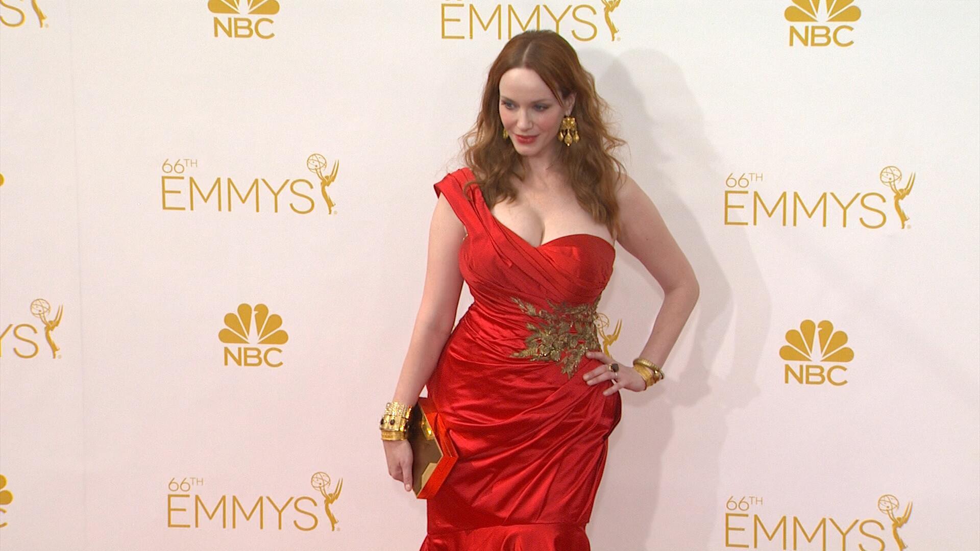Bild zu Ärzte sind nicht dick! Schauspielerin Christina Hendricks bekam keine Rollen!