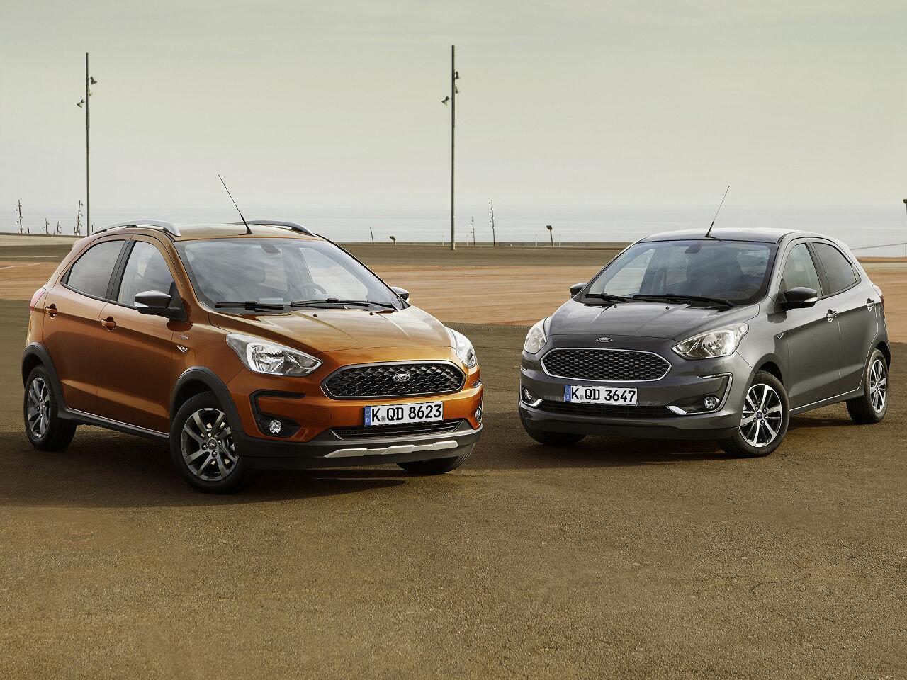 Bild zu Ford KA+ Facelift