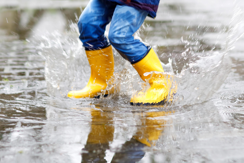 Bild zu Wetter, kalt, kleidung, kinder, babys, gummistiefel, handschuhe, wasserdicht, regenschutz