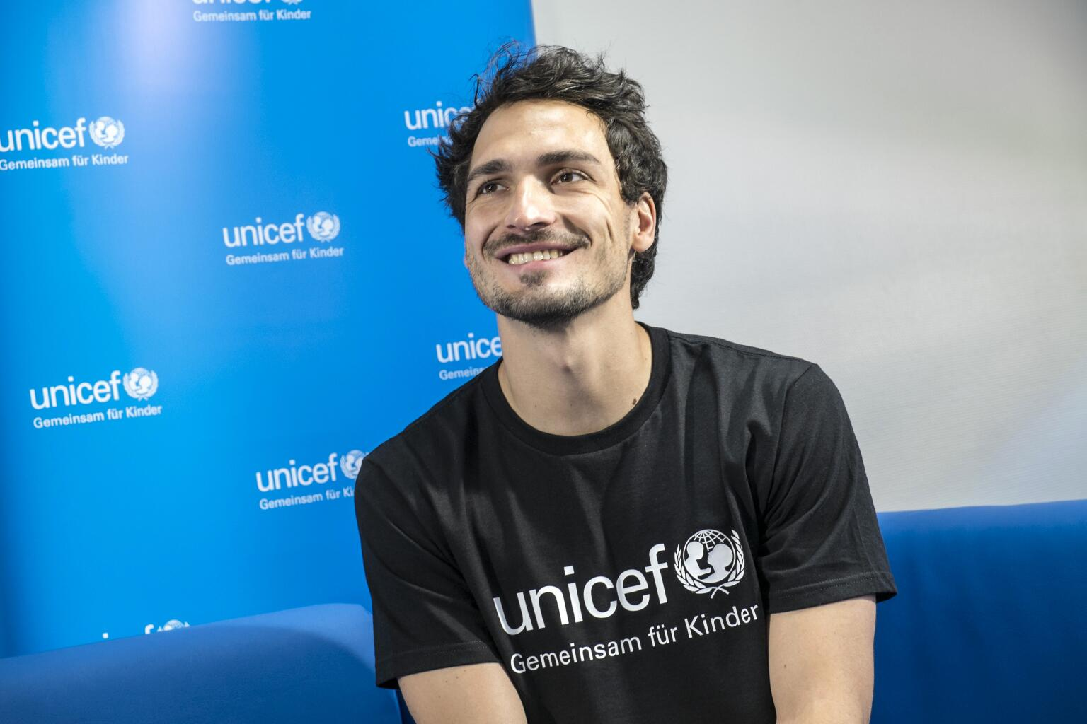 Bild zu Mats Hummels, UNICEF-Pate, Fußballweltmeister