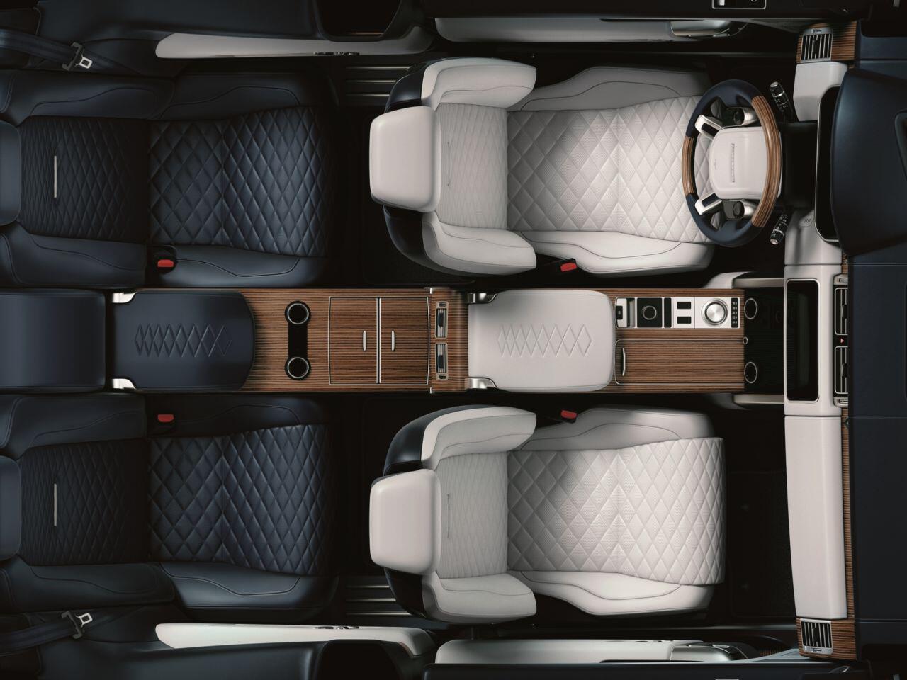 Bild zu Range Rover SV Coupé Interieur
