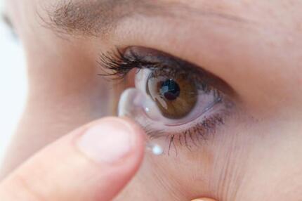 Tipps für Kontaktlinsenträger