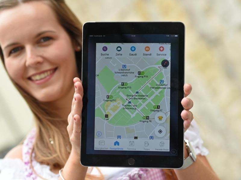 Bild zu Neue Wiesn-App
