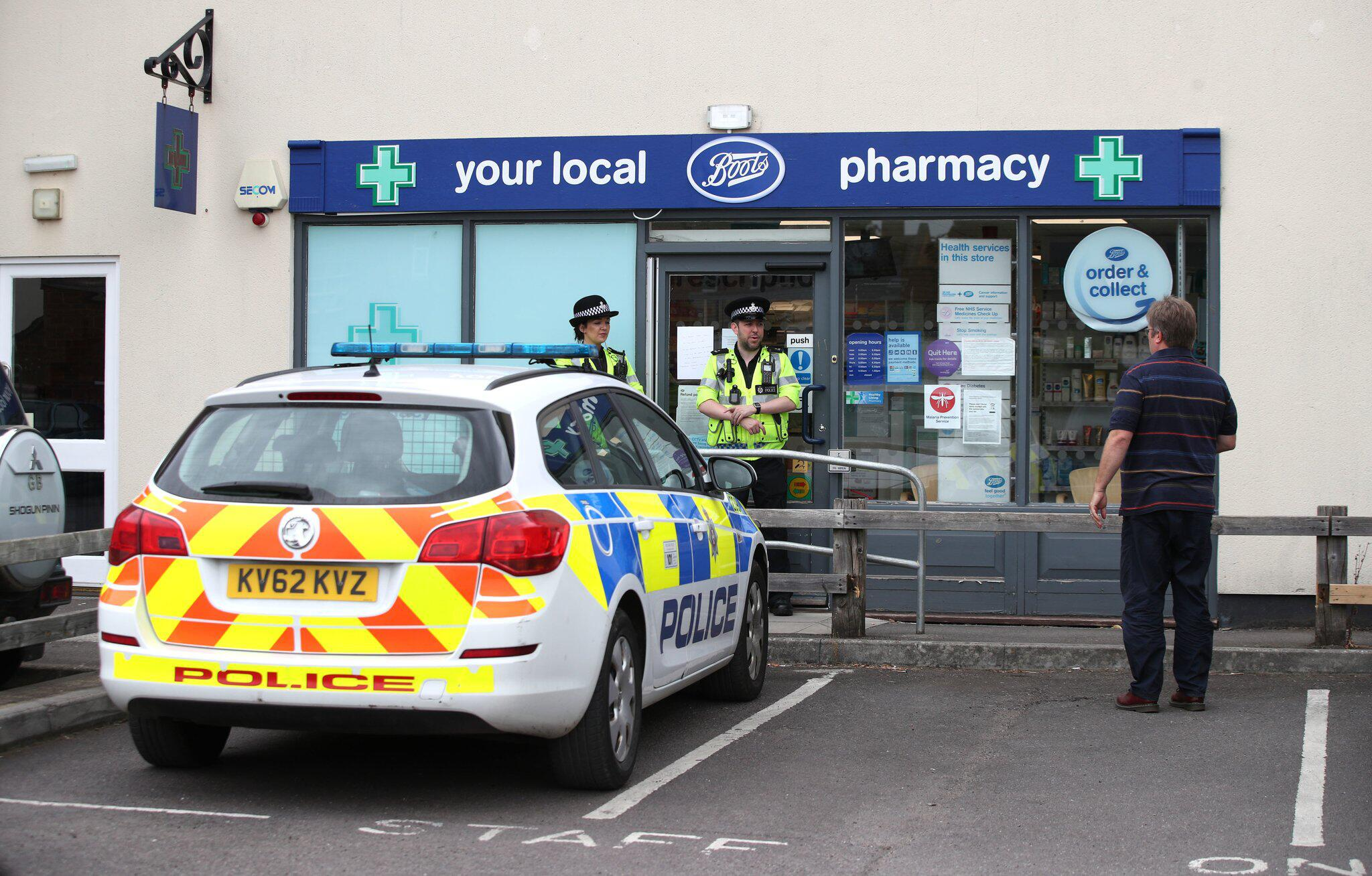 Bild zu Vorfall mit «unbekannter Substanz» in Salisbury