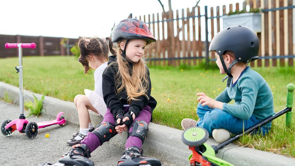 Kids, Roller, Inlineskates, Skateboard, Ski, Scooter, Freizeit, Sport, Outdoor