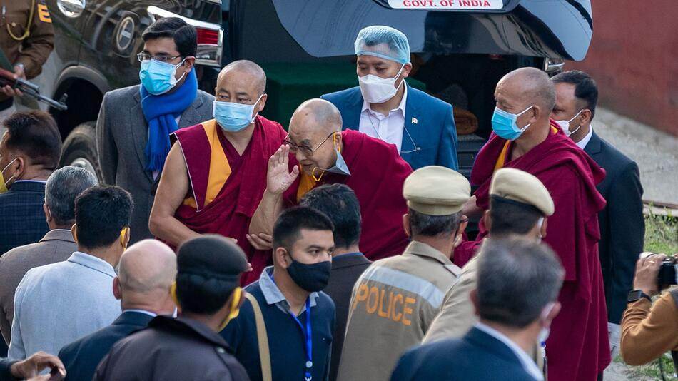 Coronavirus - Dalai Lama erhält Impfung