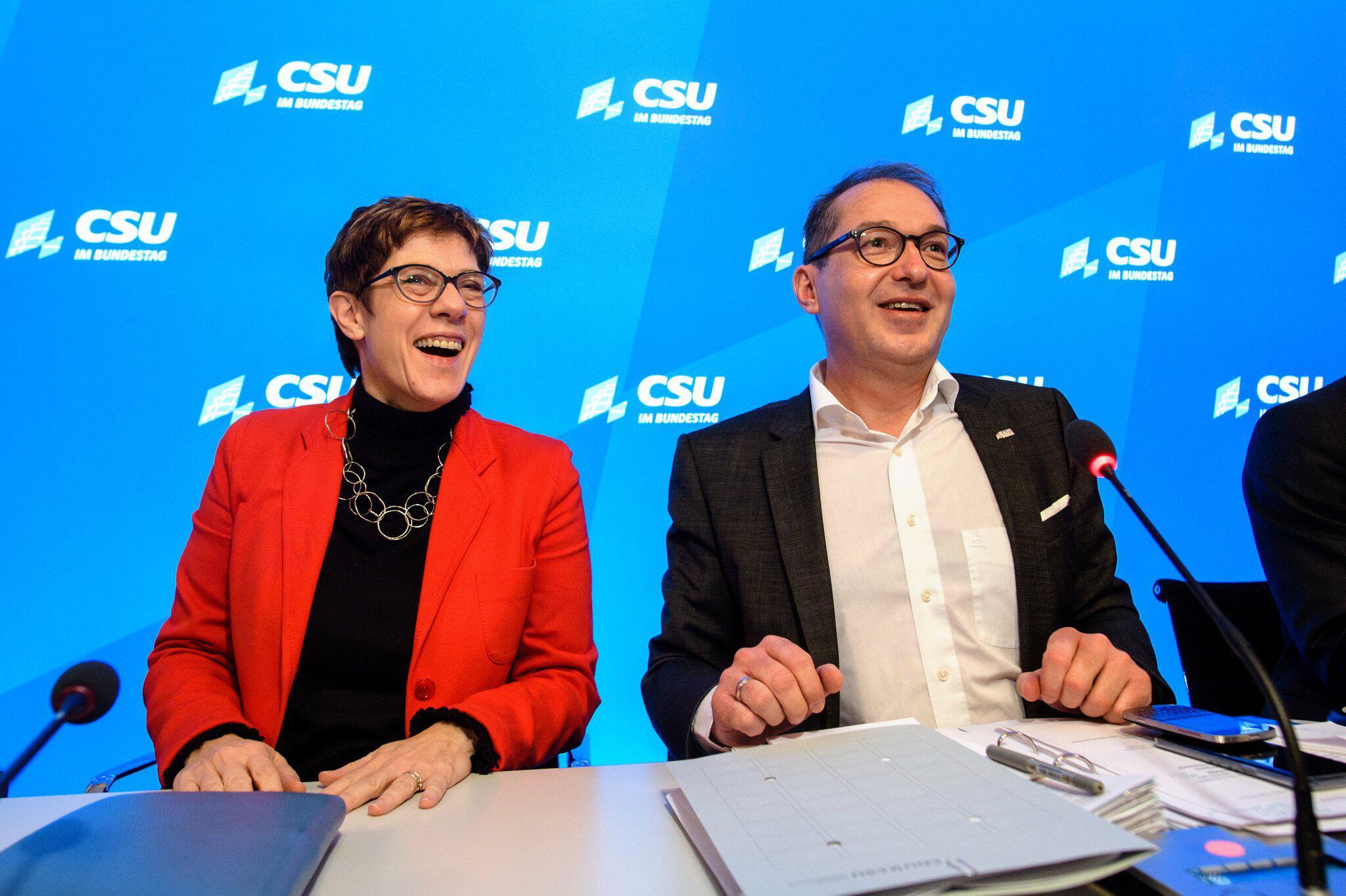 Bild zu Winterklausur der CSU-Landesgruppe im Bundestag