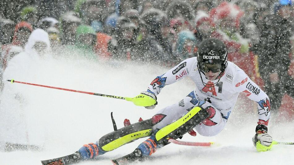Slalom-Weltcup in Kitzbühel