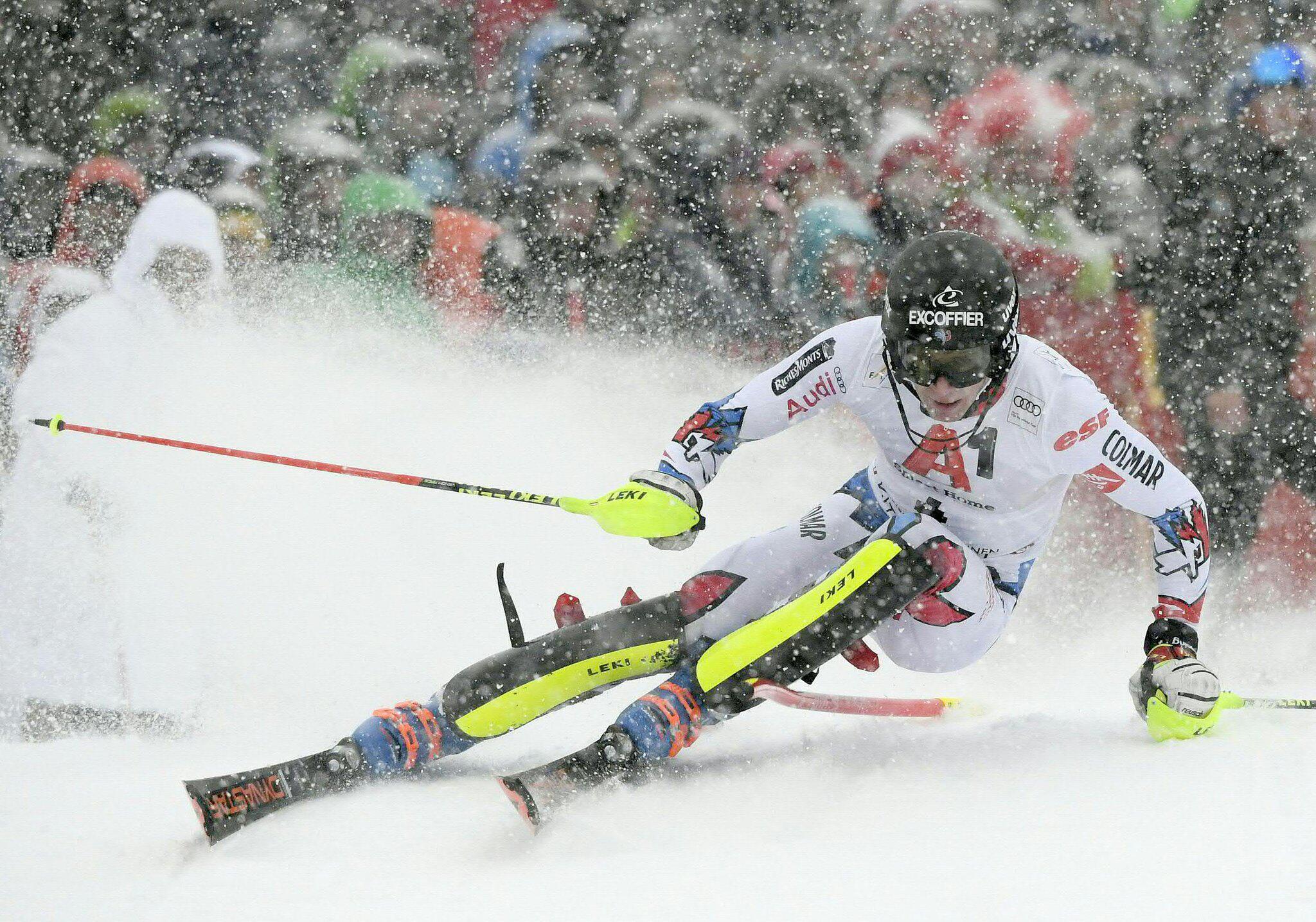 Bild zu Slalom-Weltcup in Kitzbühel