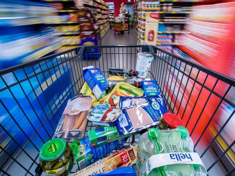 Bild zu Einkaufswagen
