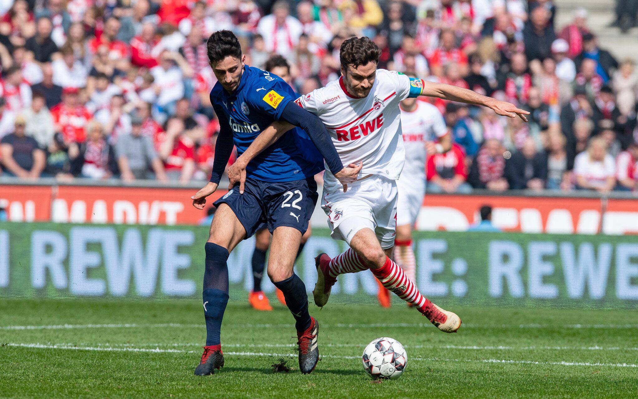 Bild zu 1. FC Cologne - Holstein Kiel