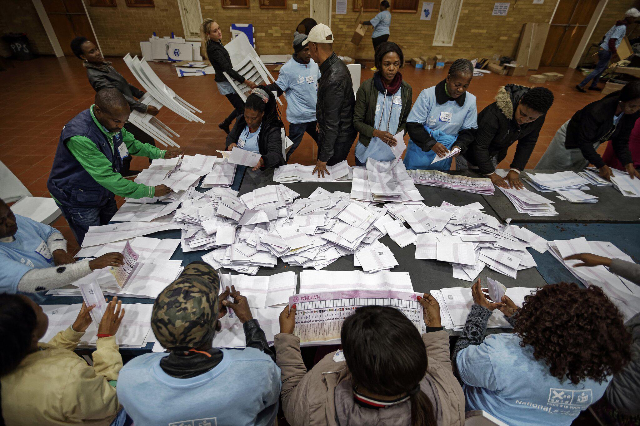 Bild zu Wahlen in Südafrika