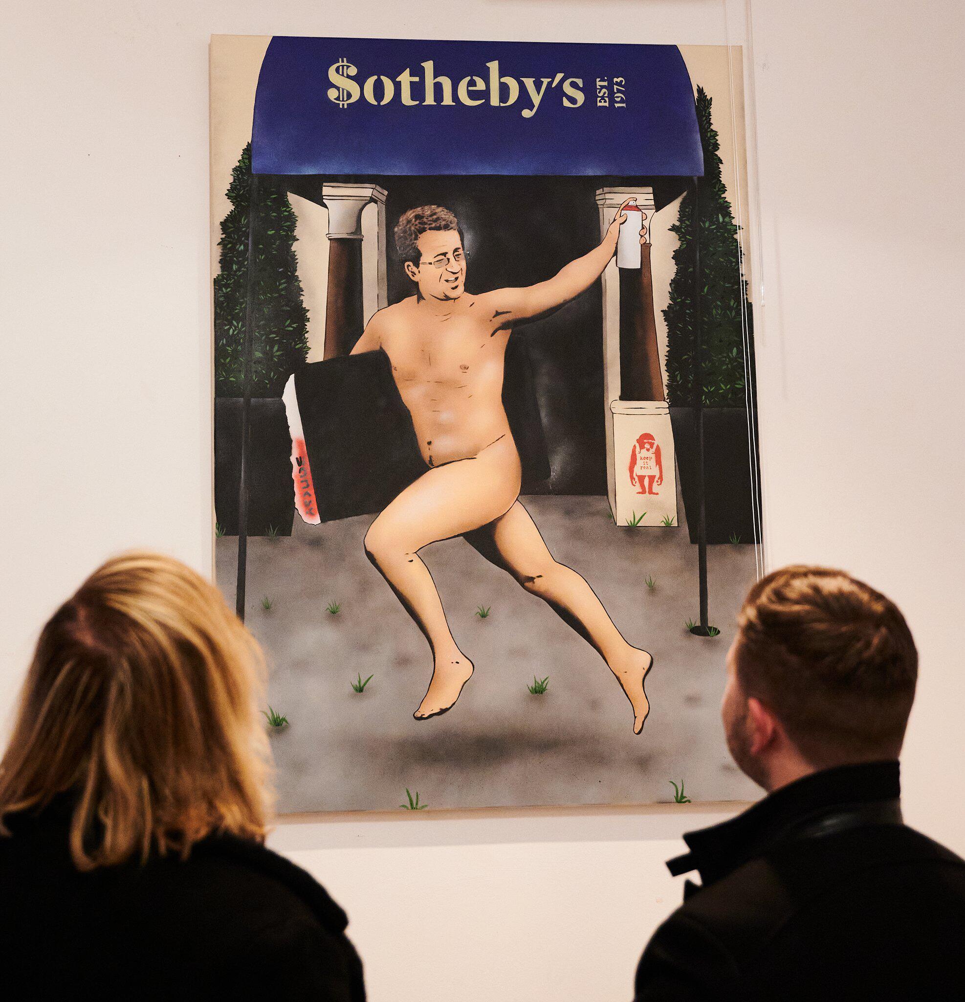 Bild zu Banksy, Gesicht, Galerie, Enthüllung, Berlin, JPS, Jamie Paul Scanlon, Kultur Späti