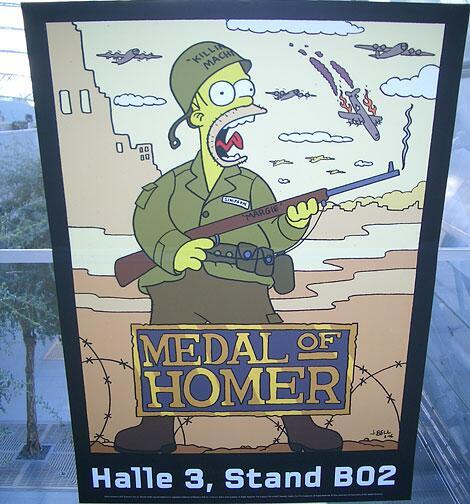 Bild zu Medal of Homer
