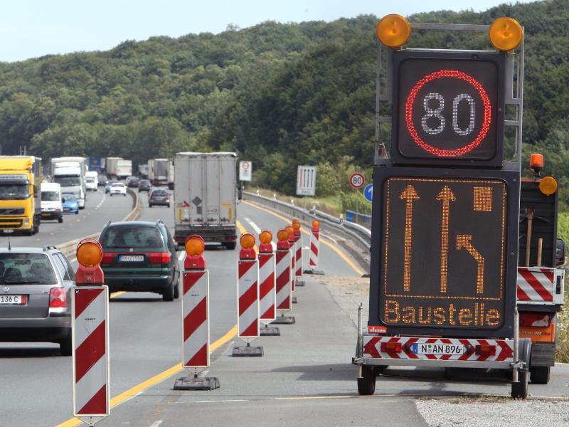 Bild zu Baustelle Autobahn A3