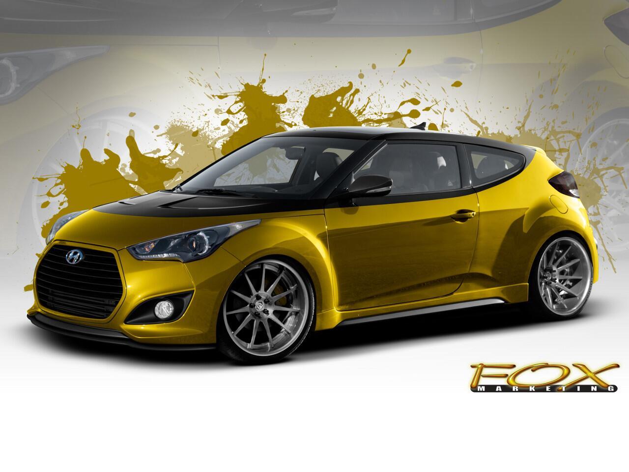 Bild zu Aufgemotzter Japaner: Hyundai Veloster Turbo