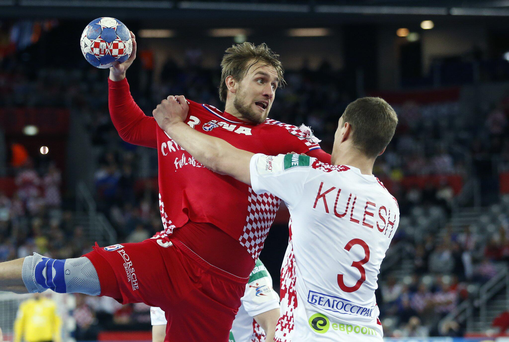 Bild zu Handball-EM: Kroatien - Weißrussland