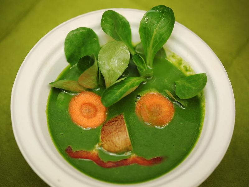 Bild zu Spinat-Suppe