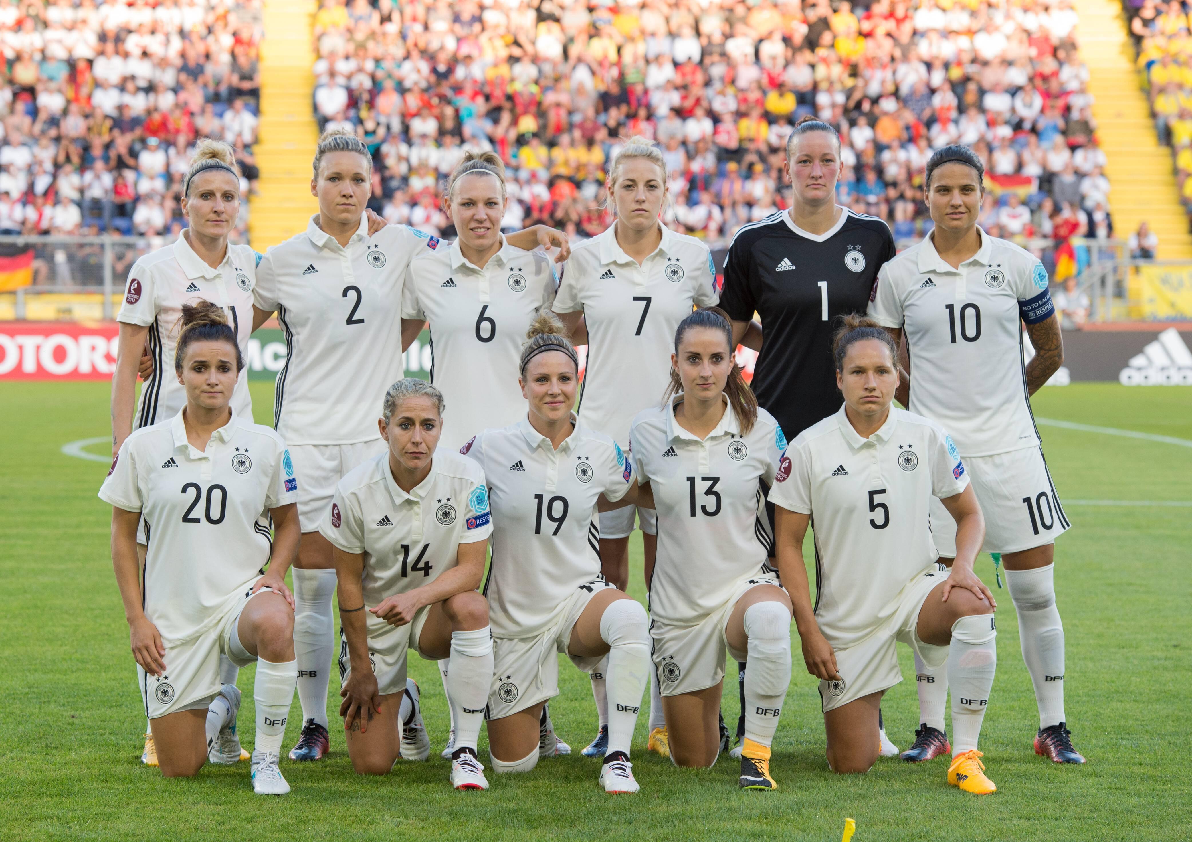 Bild zu Deutschland, Frauen EM, Europameisterschaft, Debritz