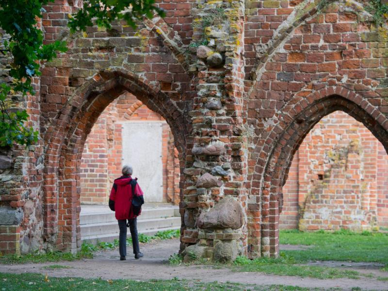 Bild zu Klosterruine Eldena