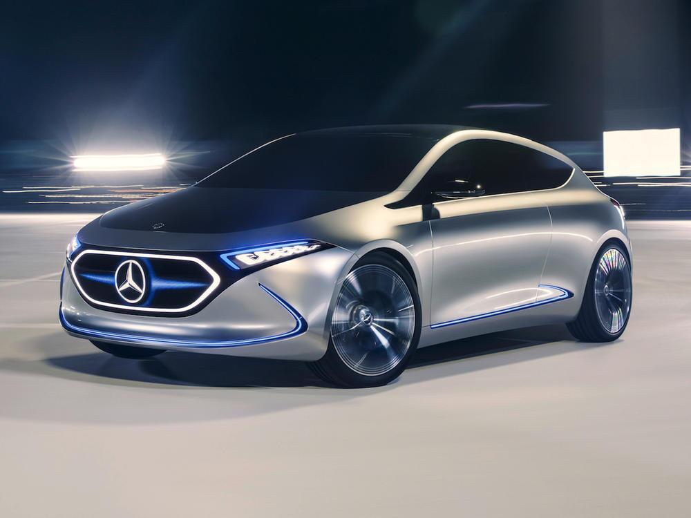 Bild zu Mercedes-Benz Concept EQA