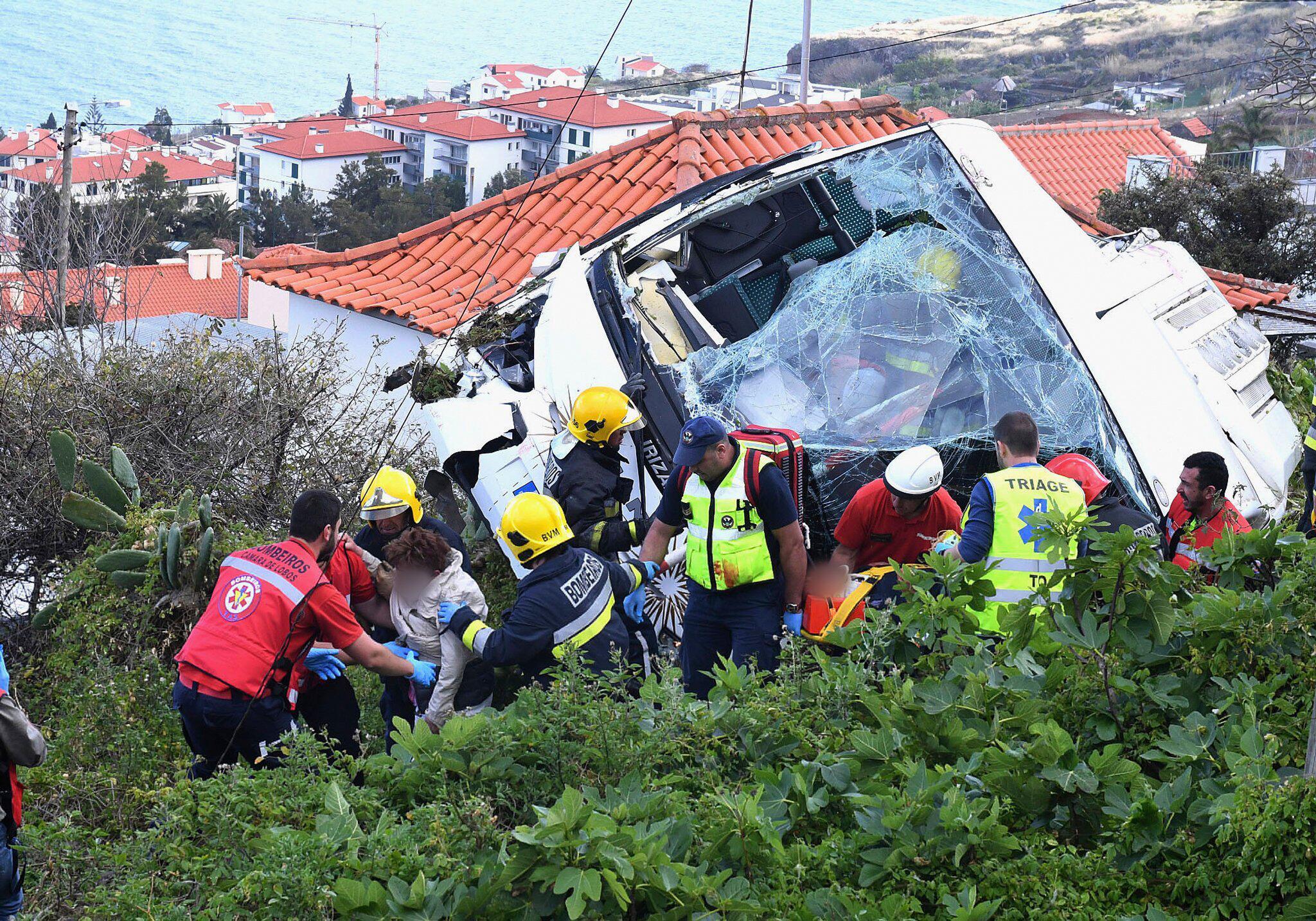 Bild zu Madeira Busunglück
