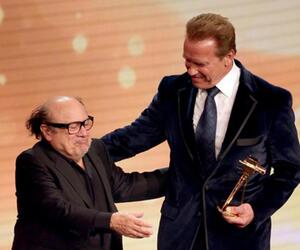 Danny DeVito + Arnold Schwarzenegger