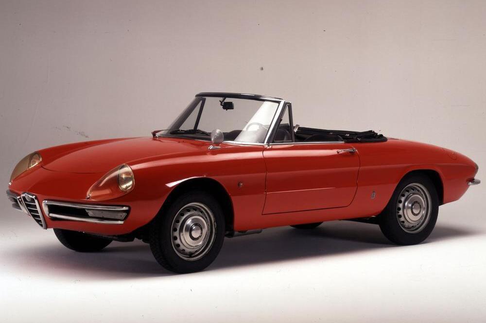 Jubiläum einer Cabrio-Ikone: Der Alfa Romeo Spider wird 50 Jahre alt