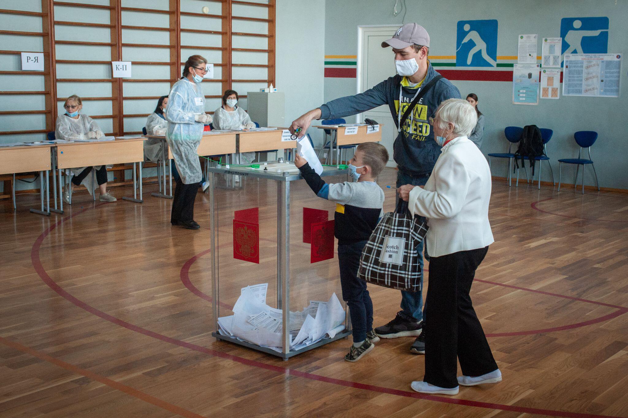 Bild zu Regionalwahlen in Russland