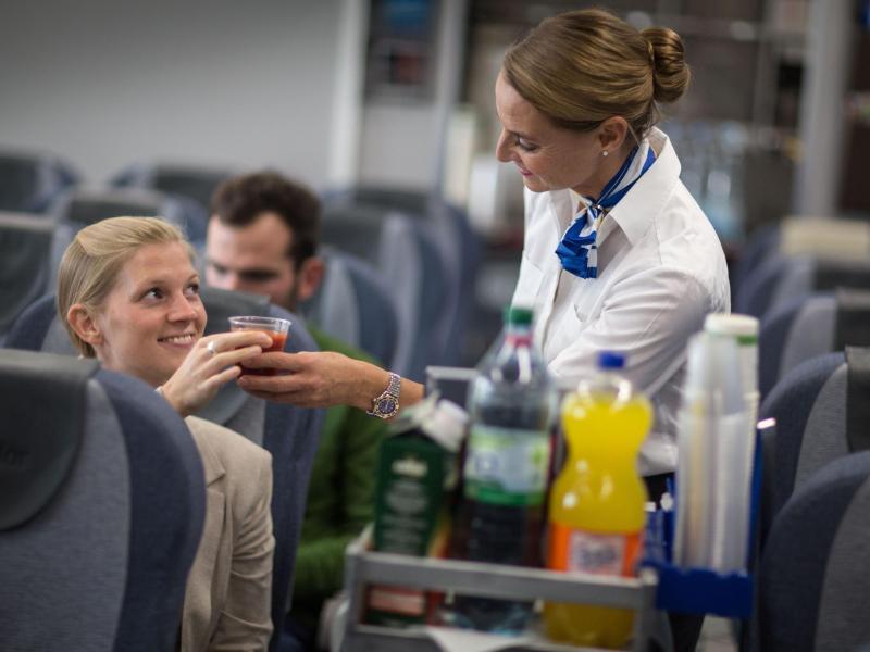 Bild zu Service für die Fluggäste