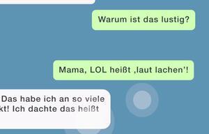 SMS von Mama