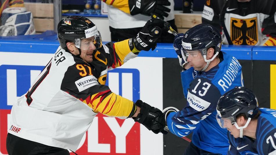 Eishockey-WM: Finnland - Deutschland