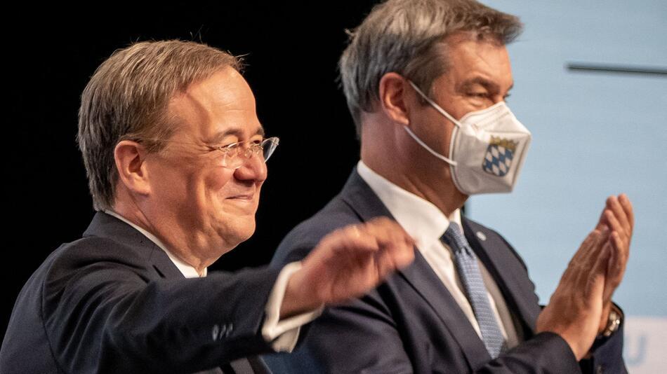 Zentraler Wahlkampfauftakt von CDU und CSU