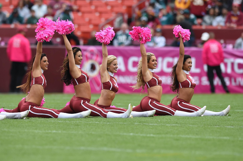 Bild zu Washington Redskins, Cheerleader, NFL