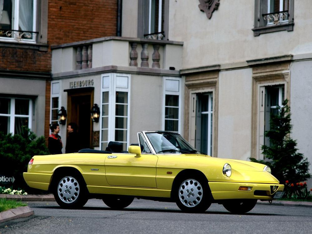 Bild zu Alfa Romeo Spider Classico