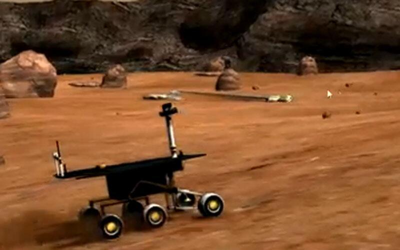 """Bild zu """"Mars-Simulator 2011"""""""