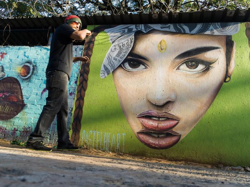 Bild zu Street-Art-Safari durch Durban