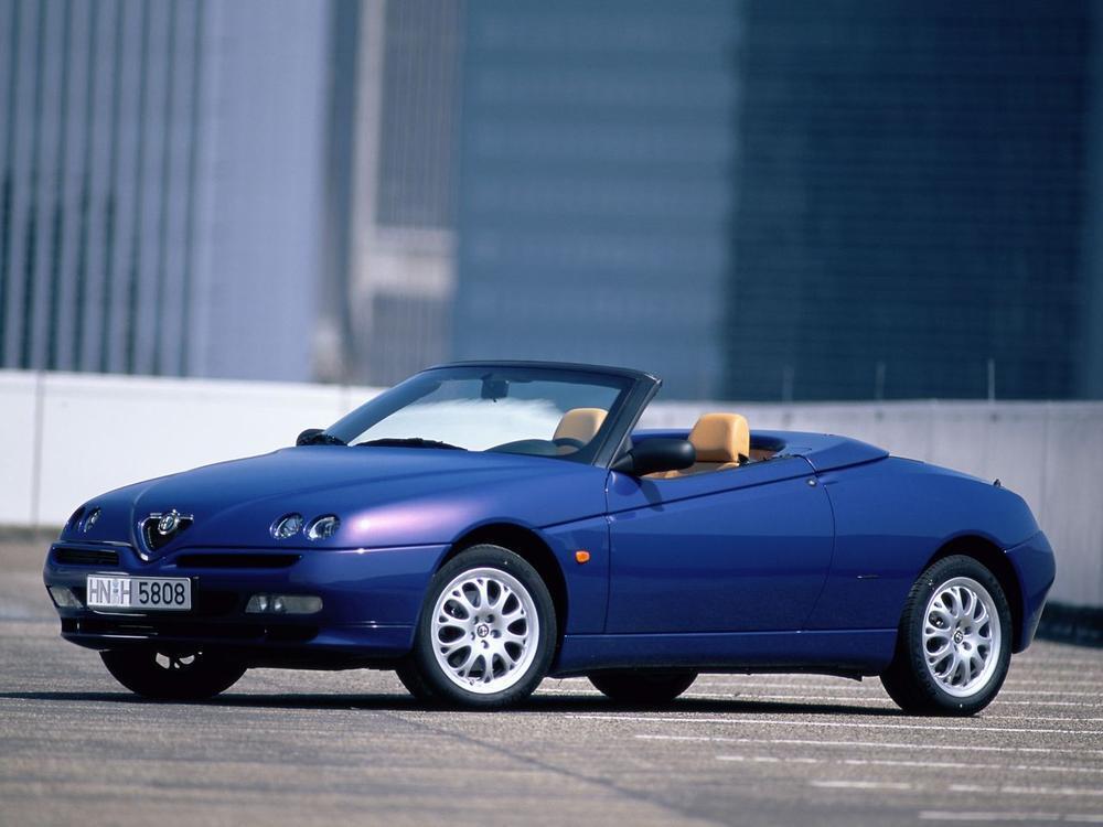 Bild zu Alfa Romeo Spider ab 1995